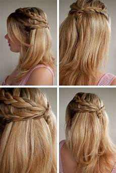 Easy Plaiting Hairstyles