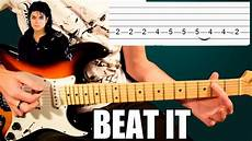 How To Play Beat It On Electric Guitar Michael Jackson