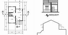 Gambar Denah Desain Rumah Minimalis Type 36 60 36 72