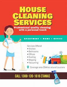 customized flyers for your cleaning business design studio