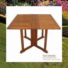 Gartentisch Klappbar Holz - tisch klappbar holz bestseller shop mit top marken