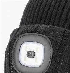 sealskinz waterproof cold weather beanie hat with led