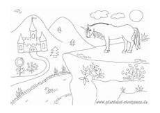 ausmalbilder pferde hof kinder zeichnen und ausmalen