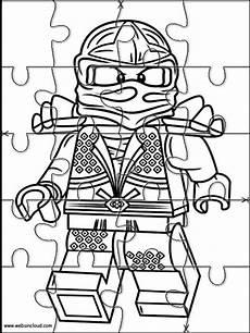 Lego Ninjago Figuren Ausmalbilder Aktivit 228 Ten F 252 R Kinder Puzzlespiele Lego Ninjago 9