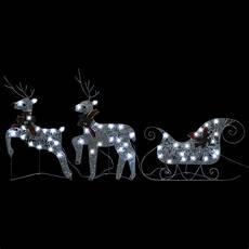 Rentier Beleuchtet Led Licht Mit Schlitten Weihnachtsdeko