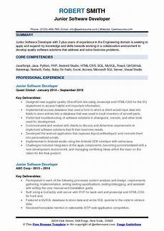 software developer resume sles qwikresume