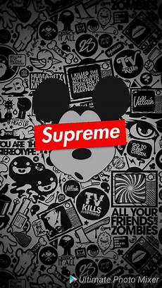 Mickey Mouse Wallpaper Supreme by Supreme Mickey Mouse Wallpaper By Xagbx08 58 Free On