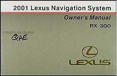 auto repair manual free download 2001 lexus rx free book repair manuals 2001 lexus rx 300 owners manual original