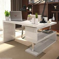 white home office furniture uk furnitureboxuk siena white high gloss computer pc home