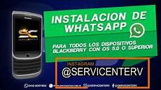 whatsapp blackberry nuevo metodo 2018 youtube