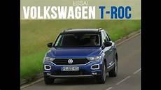 essai t roc essai volkswagen t roc 1 6 tdi 115 lounge 2019