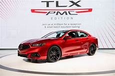 built 2020 acura tlx pmc edition shines with nsx paint