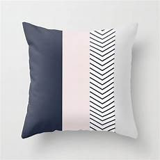 Navy And Grey Throw Pillows by Navy Blush And Grey Arrow Throw Pillow By Emilydownward