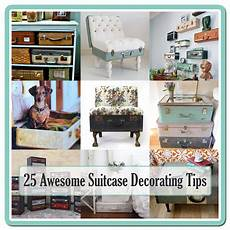 25 Awesome Suitcase Decorating Tips The Cottage Market
