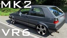 Vw Golf Vr6 - vw golf mk2 vr6 sound acceleration onboard
