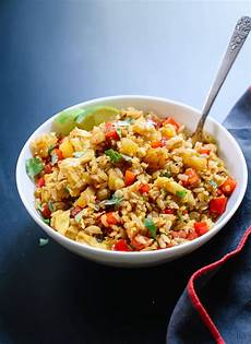 thai pineapple fried rice recipe cookie and kate