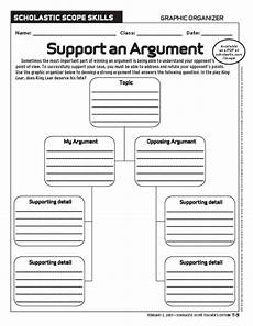 argument worksheet middle school persuasive writing collection lesson planet