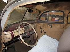Original Interior Nice Dash & Steern Wheel Deluxe Car