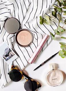 12 makeup products our editors can t live without flatlay makeup minimalist makeup wedding