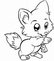 Ausmalbilder Niedliche Tiere Fox Coloring Pages Malvorlagen Tiere Vogel Malvorlagen