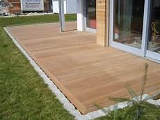 terrasse mit holz zum hausbau wir bauen ein quot ecostar3 quot quot heinz