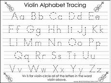 worksheets for preschool tracing letters 24672 2 violin themed task worksheets trace the alphabet and numbers 1 20 preschool