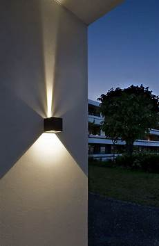 cube led outdoor wall l from light point as design ronni gol light point dk cube led
