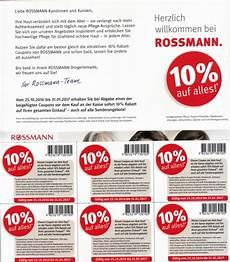 Coupons Zum Ausdrucken Rossmann 10 Prozent Coupon