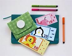 kinder malvorlagen spielgeld spielgeld zum ausdrucken diy tetrapak portemonnaie