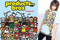 bros products hong kong colorful streetwear brand asia urban clothing cute kawaii character