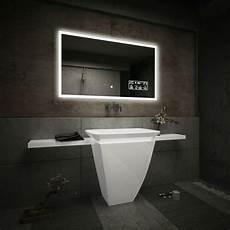badspiegel mit rahmen badspiegel mit led beleuchtung wandspiegel wetterstation