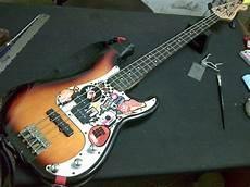 squier p bass special membaiki alatan muzik fender squier standard p bass special