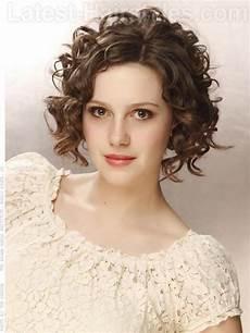 medium layered curly hairstyles