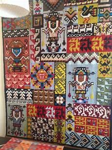 tappeti punto croce arazzo azteco a punto croce ceramiche maioliche fantasie