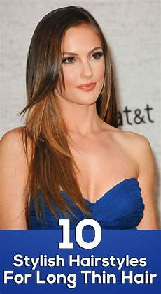 10 hairstyles for thin hair