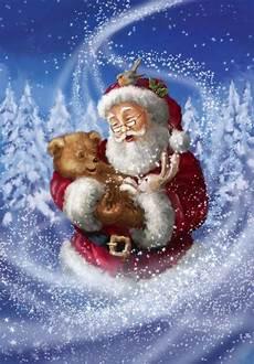 12 weihnachtsmann bilder mit tieren pagi decoplage