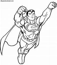 ausmalbilder superman zum ausdrucken superhelden malvorlagen