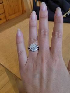 15 ideas of curved wedding bands to fit engagement ring