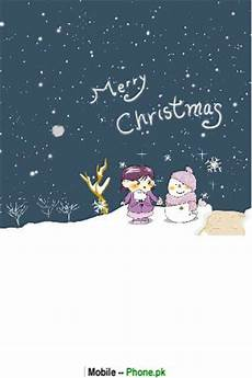 merry christmas little cartoon wallpapers mobile pics