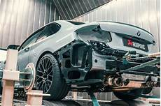 bmw m2 competition gets an akrapovic exhaust upgrade