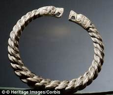 The Junk That Was Viking Treasure Metal Silver Bracelet