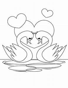 ausmalbilder zum drucken malvorlage valentinstag kostenlos 1