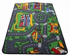 tapis enfant circuit voiture 93cmx133cm marchand de