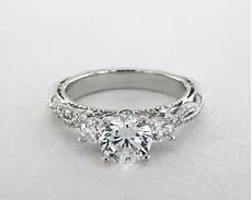 verragio venetian engagement ring 18k white gold
