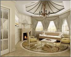 Desain Ruang Tamu Mewah Klasik Interior Ruang Tamu Modern