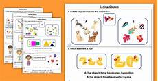 sorting worksheets year 1 7729 free sorting objects homework extension year 1 place value classroom secrets