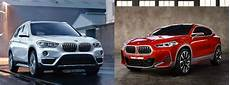 differences between the bmw x1 and the bmw x2