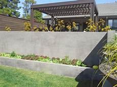 concrete retaining wall ideas for attractive garden
