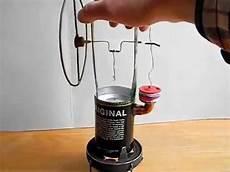 stirlingmotor selber bauen stirlingmotor aus bierdosen