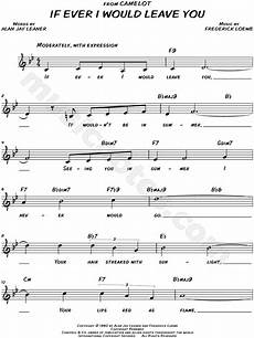 quot if ever i would leave you quot from camelot sheet music